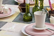 Easter Inspiration / Capture the spirit of Easter and make your tables appeal to guests of all ages. Pastel colours, decorated eggs and sweet treats.
