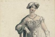 Regency Women / Lovely fashion plates and portraits of the Regency and Federalist time periods.