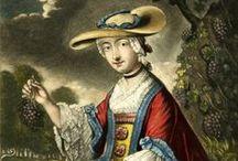 18th Century Fashion Prints / Fashion Prints of the period