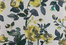 Spring Wallpaper / Add a splash of colour to your living room with our designers favourite wallcoverings for Spring 15!