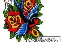 Bird Tattoos / Bird tattoo designs created by Tattoo Johnny artists