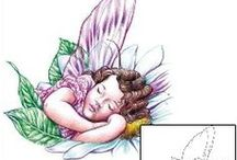 Fairy Tattoos / Fairy tattoo designs created by Tattoo Johnny artists