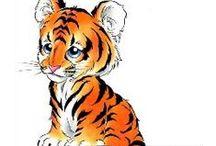 Tiger Tattoos / Tiger tattoo designs created by Tattoo Johnny artists
