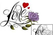 Love Tattoos / Love tattoo designs created by Tattoo Johnny artists