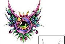 Eyes Tattoos / Eye tattoo designs created by Tattoo Johnny artists