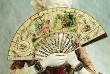 18th Century Fans / This board shows portraits with ladies or gentleman with fans and originals focused on the 18th and 19th Centuries.