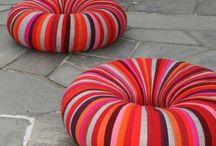 Handicrafts - Manualidades / http://primorina.blogspot.com.es/2013/01/alfombrilla-de-bano.html?spref=fb