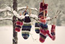 Warm up in winter