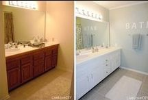 Before & Afters / Revamp old furniture, UNIQUE renos, & inspirational transformations!