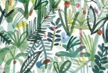 I love pattern design / floral / pattern design, floral, illustration, design