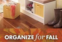 Organize for Fall