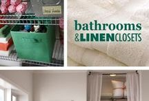 Bathrooms & Linen Closets