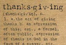 DECOR: THANKSGIVING-Holiday / by Rebecca J. Hamilton