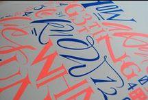 Graphic Design / Typography & Logos / by Bob