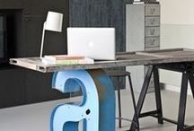 I love studio space / studio space, artist studio, home, decor, interiors
