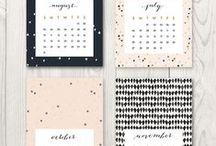 I love calendars