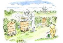Honey bee-keeping / Sustainable agricultural practices.
