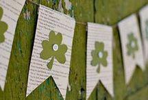 DECOR: ST.PATRICKS DAY-Holiday / Festive Holiday celebration and decorating ideas / by Rebecca J. Hamilton