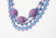 Crochet - Necklaces with Beads