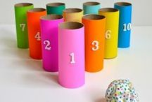 Things to do with empty toilet paper rolls