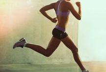 || RUN GIRL RUN || / The urban girl pounds the pavement, pushing herself every day