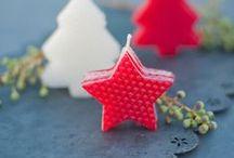 Beeswax candles-Christmas