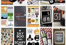 Halloween printables, invites etc.
