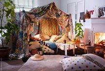 Build a den! / Indoors or outdoors - whatever the weather!