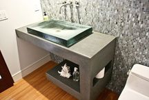 Custom  S i n k s / Custom sink projects by Concrete Wave Design. Follow us on Instagram @concretewavedesign