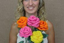 Flower Bouquet - Crochet