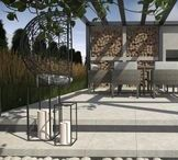 Gazebo and terrace