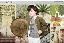Little Explorer Summer Shoot / Inspired by Victorian exploration of new worlds. Neutrals, map prints, and utilitarian fabrics in refined styles for summer.