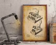 Patent Posters / Best Selection of Patent image Posters