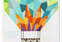quilts // mini quilts / a curated selection of modern mini and wall quilts.