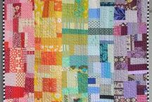 quilts // scrappy quilts / Come on, get scrappy! Scrap quilt ideas and more. Use up your fabric stash.