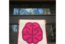 science quilts / Quilts perfect for the budding scientist or professional scientist. Mini quilts, wall hanging and bed quilts. All science related!