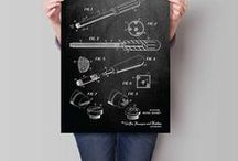Tools & Equipment / Tools & Equipment Patent Posters