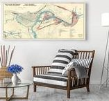 City Maps / Old City Map Posters