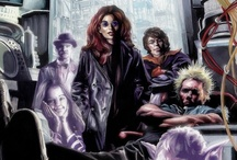 """Crazy Mary / Images from the Supernatural/Cyberpunk comic """"Crazy Mary"""" created and written by Michael Colbert."""