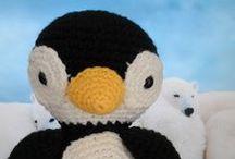 Amigurumi-crocheted/knitted stuffed toy. / Amigurumi,crocheted or knitted stuffed toy. / by Linda