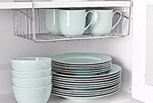 Organizing: Foods & kitchen utilities