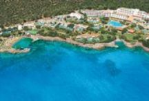 Elounda Mare Hotel / The 5* Elounda Mare Hotel overlooks Mirabello Bay on the north coast of the island of Crete, an area of outstanding natural beauty. Since 1988 it has been a member of the international Relais & Chateaux hotel group. http://www.elounda.com/en/hotels/europe-greece-crete-lassithi-elounda/eloundamarehotelrelaischateaux.html