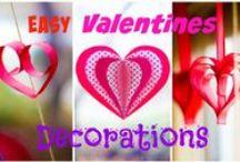 Valentínsky deň / tvoríme k Valentínovi