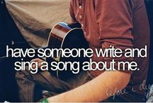 My bucket list ^_^ / by Somebody Actually