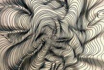 Zentangle, intuitívna kresba.....