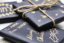 Christmas / Découvrez de belles idées de paquets cadeaux pour personnaliser vos cadeaux pour Noël