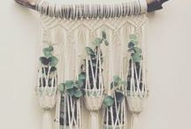 Macrame DIY Projects / A wide variety of macrame DIY projects, inspiration, knots, and ideas for the beginner or expert!
