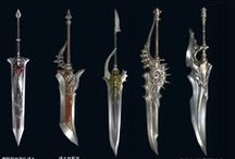 weapons for fantasy geeks / my own geeky arsenal