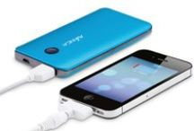 Need some energy? / Mobile chargers and battery cases: external power on-the-go for all your mobile devices. Perfect for some extra energy for your iPod, smartphone, or eReader (or a complete charge, it's up to you!). Choose your model, choose your color and get some extra energy!