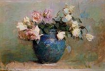 Kwiaty w malarstwie.